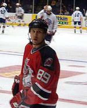 Alexander Mogilny - Mogilny with the Albany River Rats in 2006