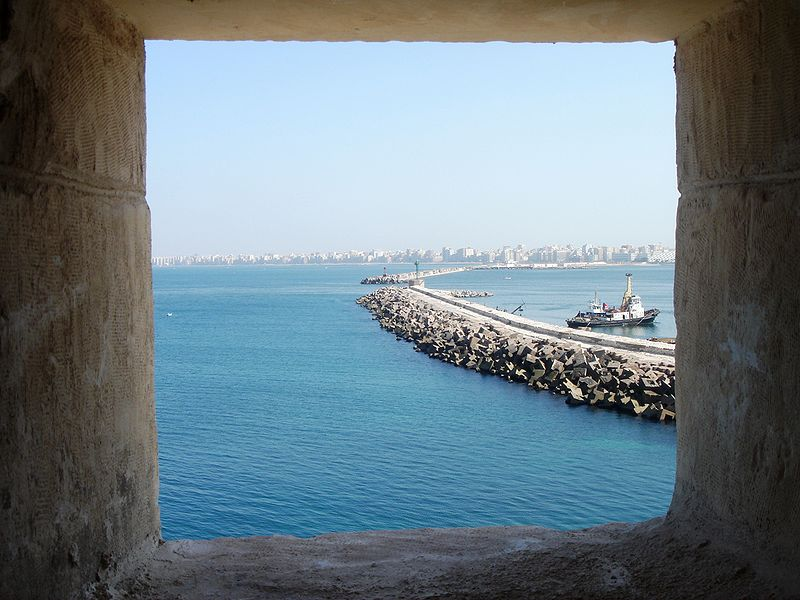 File:Alexandria from Quitbays Citadel.jpg