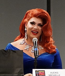 Alexis Michelle American drag performer