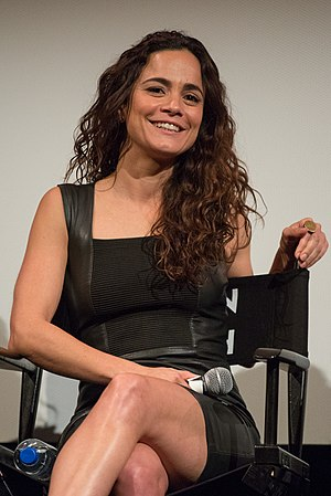 "Alice Braga - Braga at the ATX Television Festival presentation of the TV show ""Queen of the South"" in 2016"
