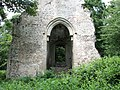 All Saints Church - the base of the ruined tower - geograph.org.uk - 1399042.jpg