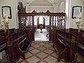 All Saints Church Farley, Wiltshire, England - nave from chancel.jpg