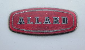Allard - Image: Allard reg 1949 3622 cc The Badge