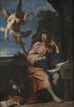 Allegory over Poetry (Giovanni Francesco Romanelli) - Nationalmuseum - 17160.tif