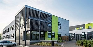 Allestree Woodlands School - Image: Allestree Woodlands School