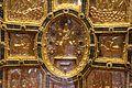 Altare di s. ambrogio, 824-859 ca., fronte dei maestri delle redentore tra apostoli e simboli evangelisti 05.jpg