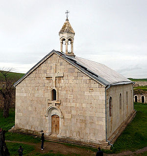 Amaras Monastery - The church of St. Grigoris of the Amaras Monastery (established in the 4th century, rebuilt in the 19th century)