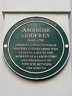 Ambros godfrey (city of westminster)