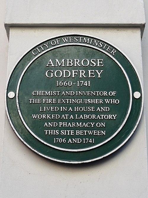 Ambros godfrey (city of westminster)