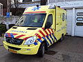 Ambulance Haaglanden unit 15-114, Mercedes at Delft, The Netherlands pic4.JPG
