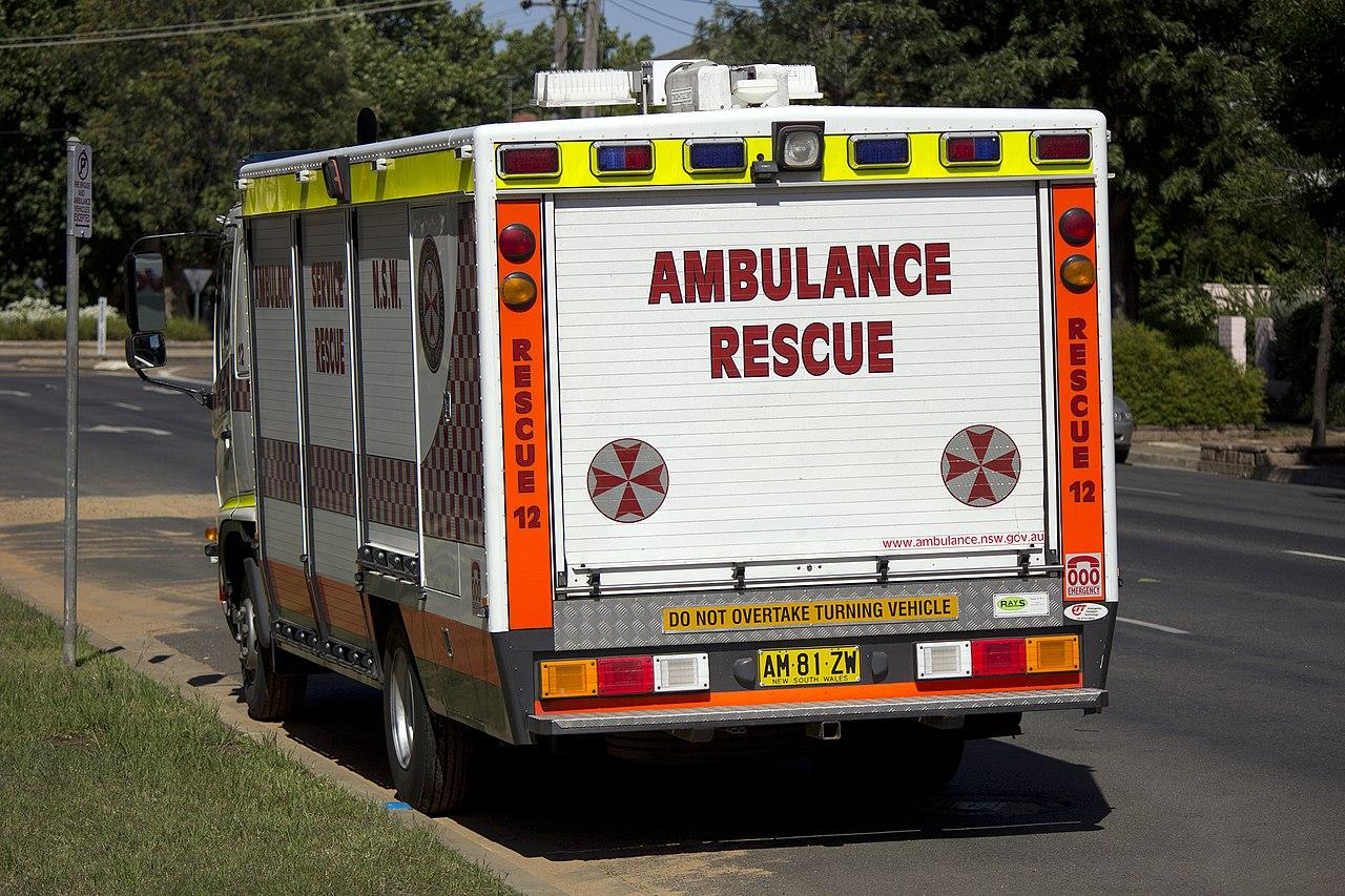 file ambulance service of new south wales rescue hino ranger  file ambulance service of new south wales rescue hino ranger 1 jpg