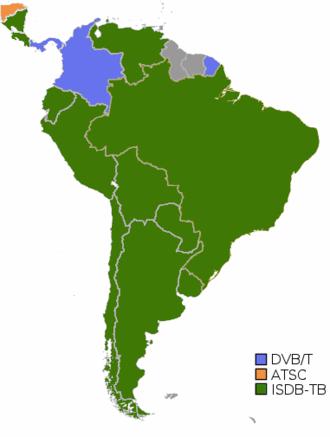 ISDB-T International - Digital Television in South America