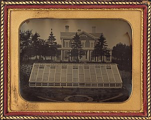 House with Greenhouse, Virginia