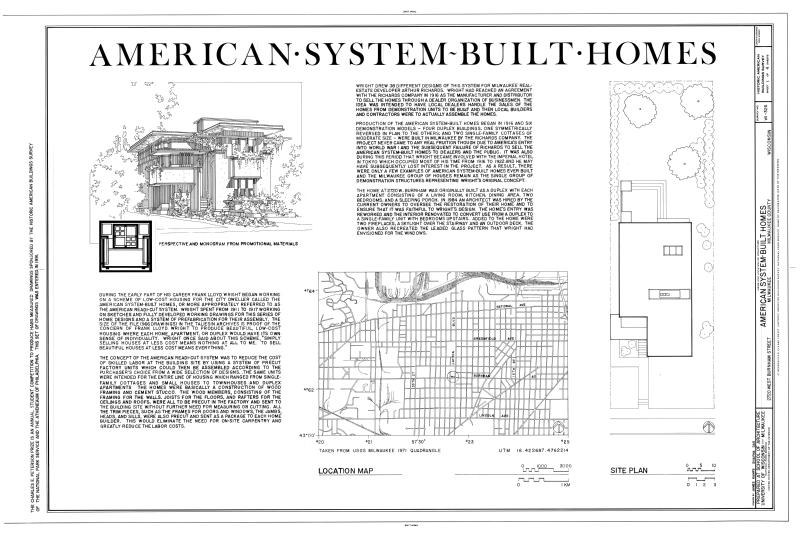 File american system built homes 2720 22 west burnham for American west homes floor plans