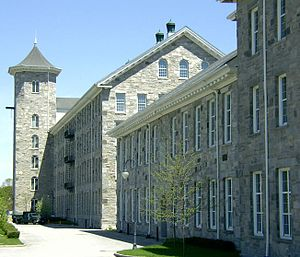 National Register of Historic Places listings in Windham County, Connecticut - Image: American Thread Company Willimantic mill