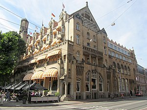 Top 100 Dutch heritage sites - Image: American hotel amsterdam 4