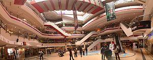 Ampa Skywalk - The inside of Skywalk Mall