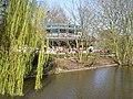 Amsterdam, Blauwe theehuis vanaf de brug.jpg