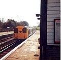 An EMU arrives into Sandown Railway Station - geograph.org.uk - 2005736.jpg