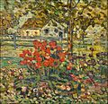 An Old Fashioned Garden by Maurice Brazil Prendergast.jpg