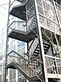 An elaborate fire escape on the Science Campus of UCNW - geograph.org.uk - 585774.jpg