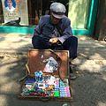 An old vendor in Nanjing,20151012.JPG