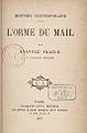 """Anatole France, """"L'orme du mail"""", 1897, couverture intérieure.jpg"""