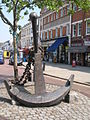 Anchor at the south end of Deptford High Street, SE8 - geograph.org.uk - 1503562.jpg