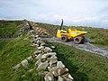 Ancient Wall, modern technology - geograph.org.uk - 999453.jpg