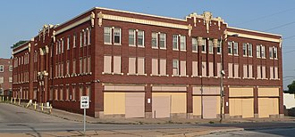 National Register of Historic Places listings in Douglas County, Nebraska - Image: Anderson Building (Omaha) from NW 1