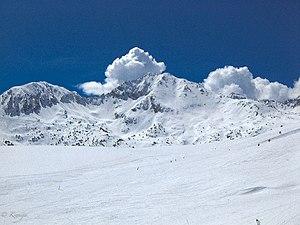 Coma Pedrosa -  Snow-covered Andorra mountains