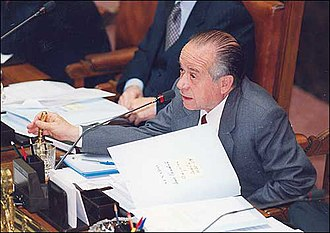 Andrés Zaldívar - Andrés Zaldívar, as President of the Senate of Chile
