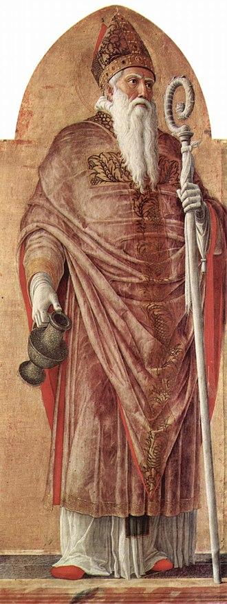 Prosdocimus - Saint Prosdocimus, from the San Luca Altarpiece