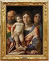 Andrea mantegna, sacra famiglia con una santa, dalla coll. bernasconi, vr.jpg