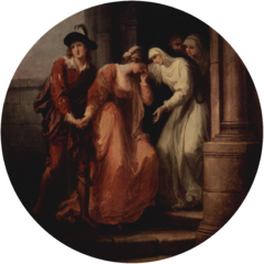 Parting of Abelard and Heloise