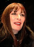 Photo of Anjelica Huston.