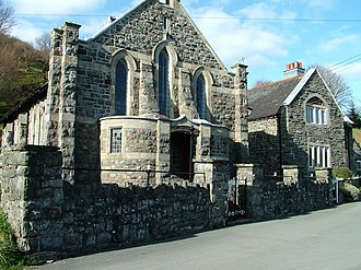 Dolanog - Ann Griffiths Memorial Chapel, Dolanog