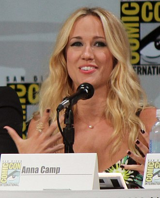 Anna Camp - Camp at the 2014 San Diego Comic-Con International