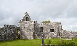 Iar Connacht - The ruins of Annaghdown Abbey, the religious center of Iar Connacht.