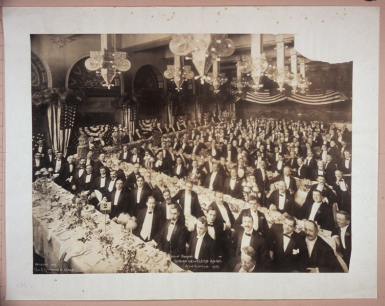 File:Annual Banquet, Chicago (J)ewelers Assn., Auditorium, 1905 LCCN2007663951.tif