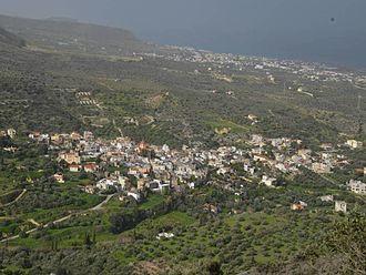 Gouves, Greece - Ano Gouves Village