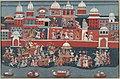 Anonymous - The marriage procession of Aniruddha. Illustration from a Bhagavata Purana manuscript. - 2001.138.81 - Yale University Art Gallery.jpg