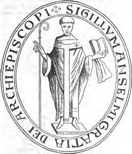 Anselm of Canterbury, seal