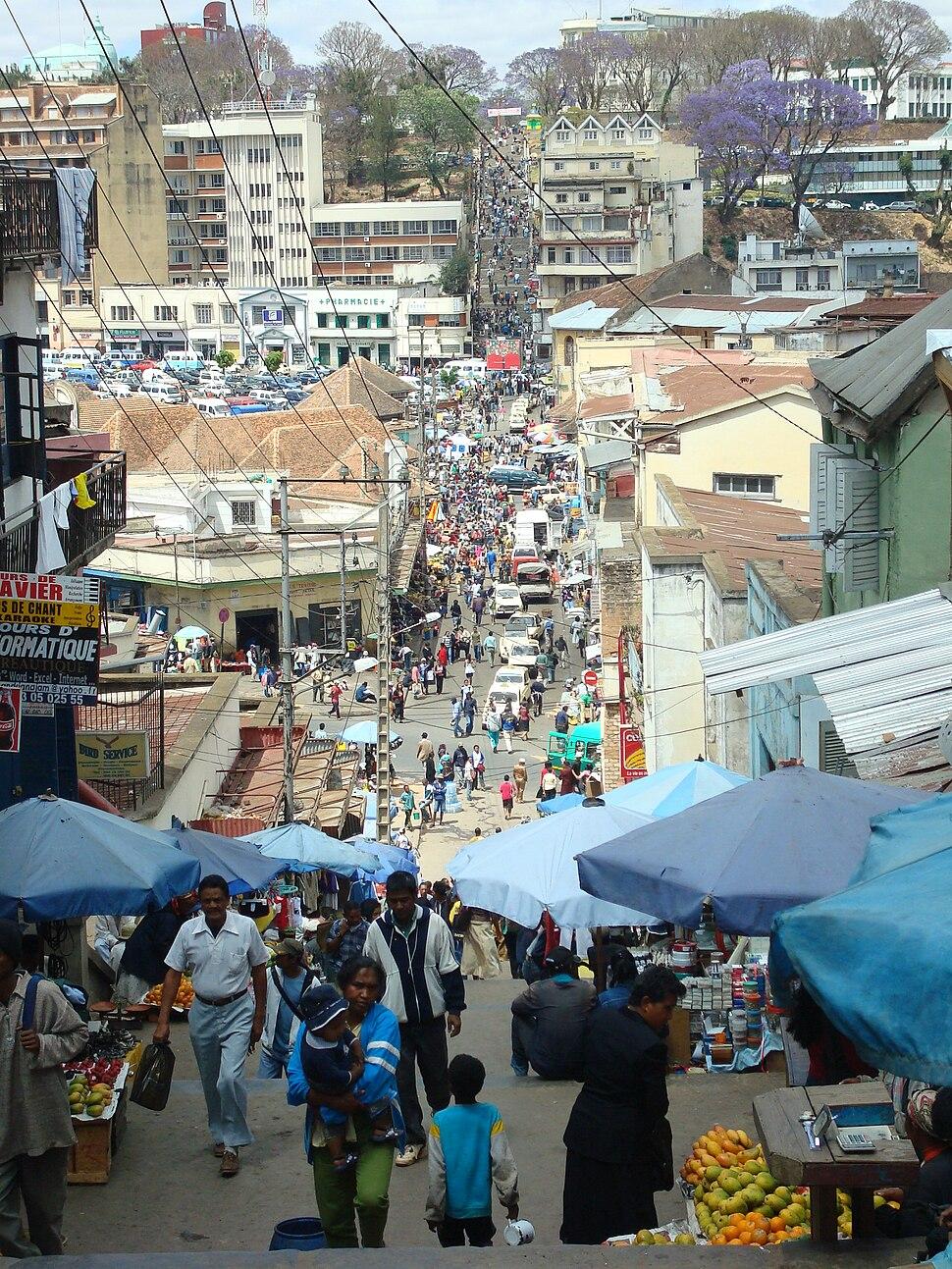 Antananarivo Street