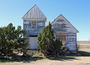 National Register of Historic Places listings in Morgan County, Colorado - Image: Antelope Springs Methodist Episcopal Church
