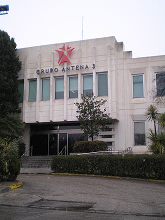 Antena 3 (Spain) - Antena 3 headquarters
