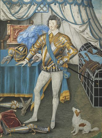 Anthony Mildmay - Sir Anthony Mildmay by Nicholas Hilliard.