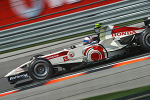Anthony Davidson - Davidson as Honda's third driver at the 2006 United States Grand Prix.