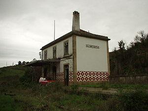 Almendra, Portugal - Almendra former train station
