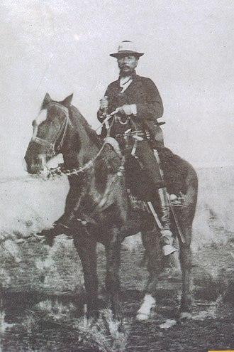 Aparicio Saravia - Aparicio Saravia on horseback